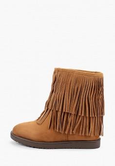 Полусапоги, Ideal Shoes, цвет: коричневый. Артикул: ID007AWGPBI8. Обувь / Сапоги