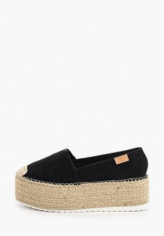 Эспадрильи, Ideal Shoes, цвет: черный. Артикул: ID007AWIEEI1. Обувь / Эспадрильи