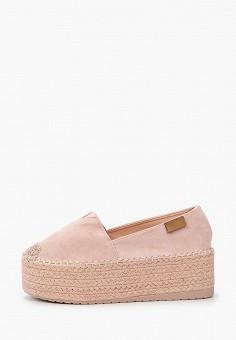 Эспадрильи, Ideal Shoes, цвет: розовый. Артикул: ID007AWIEEI3. Обувь / Эспадрильи