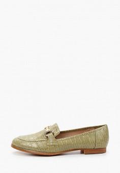 Лоферы, Ideal Shoes, цвет: зеленый. Артикул: ID007AWIXMX4. Обувь / Туфли / Лоферы