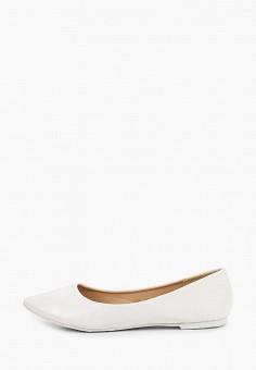 Балетки, Ideal Shoes, цвет: белый. Артикул: ID007AWIXNC1. Обувь / Балетки