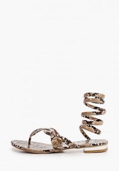 Сандалии, Ideal Shoes, цвет: коричневый. Артикул: ID007AWJDKB3. Обувь / Сандалии