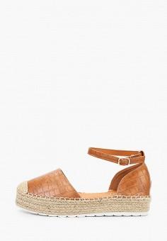 Эспадрильи, Ideal Shoes, цвет: коричневый. Артикул: ID007AWJDKD4. Обувь / Эспадрильи
