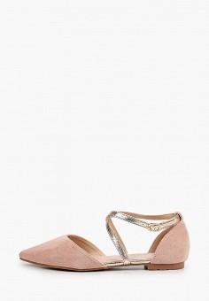 Туфли, Ideal Shoes, цвет: розовый. Артикул: ID007AWJDKE4. Обувь / Туфли