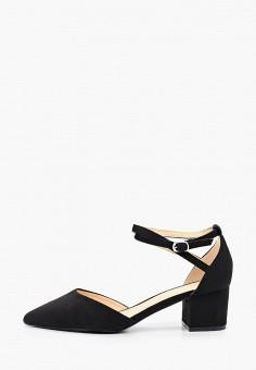 Туфли, Ideal Shoes, цвет: черный. Артикул: ID007AWJDKF1. Обувь / Туфли