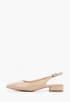 Туфли, Ideal Shoes, цвет: бежевый. Артикул: ID007AWJFXR0. Обувь / Туфли