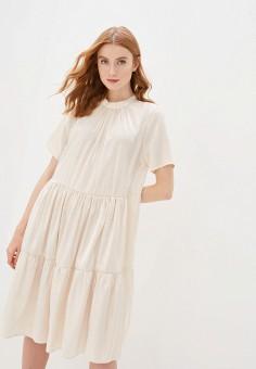 Платье, Imperial, цвет: бежевый. Артикул: IM004EWISVI8. Одежда / Платья и сарафаны / Вечерние платья