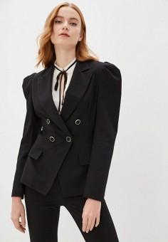 Пиджак, Imperial, цвет: черный. Артикул: IM004EWISVL4. Одежда / Пиджаки и костюмы