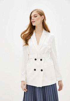 Пиджак, Imperial, цвет: белый. Артикул: IM004EWIWAD9. Одежда / Пиджаки и костюмы