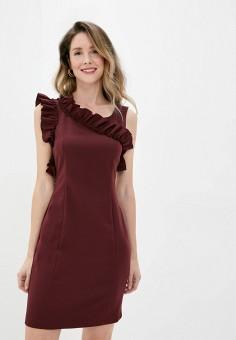 Платье, Imperial, цвет: бордовый. Артикул: IM004EWJWGS2. Одежда / Платья и сарафаны / Вечерние платья