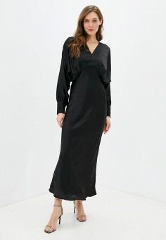Платье, Imperial, цвет: черный. Артикул: IM004EWJWGT5. Одежда / Платья и сарафаны / Вечерние платья