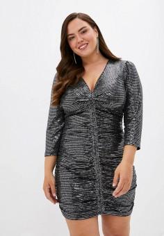 Платье, Imperial, цвет: черный. Артикул: IM004EWJWGX3. Одежда / Платья и сарафаны / Вечерние платья