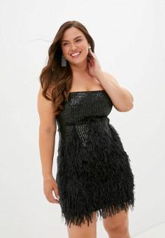 Платье, Imperial, цвет: черный. Артикул: IM004EWJWGX4. Одежда / Платья и сарафаны / Вечерние платья