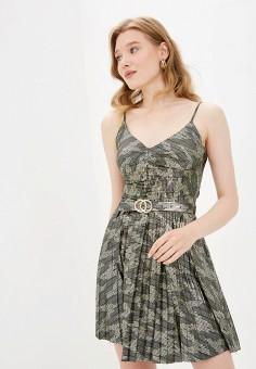 Платье, Imperial, цвет: золотой. Артикул: IM004EWJWGX6. Одежда / Платья и сарафаны / Вечерние платья