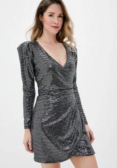 Платье, Imperial, цвет: серебряный. Артикул: IM004EWJWGY3. Одежда / Платья и сарафаны / Вечерние платья