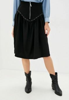 Юбка, Imperial, цвет: черный. Артикул: IM004EWJWHE5. Одежда / Юбки