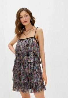 Платье, Imperial, цвет: мультиколор. Артикул: IM004EWKHZD5. Одежда / Платья и сарафаны / Вечерние платья