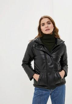 Куртка утепленная, Imocean, цвет: черный. Артикул: IM007EWHPVI0. Одежда / Верхняя одежда / Демисезонные куртки