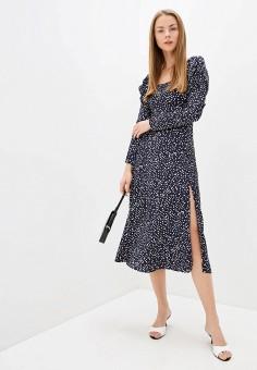 Платье, Imocean, цвет: синий. Артикул: IM007EWJCEM7. Одежда / Платья и сарафаны / Повседневные платья