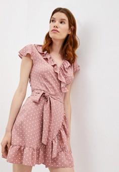 Платье, Imocean, цвет: розовый. Артикул: IM007EWJYFM3. Одежда / Платья и сарафаны