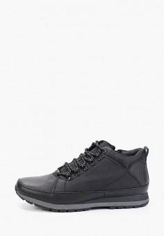 Ботинки, Instreet, цвет: черный. Артикул: IN011AMFYBC9. Обувь / Ботинки / Низкие ботинки