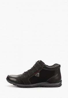 Ботинки, Instreet, цвет: черный. Артикул: IN011AMFYBE3. Обувь / Ботинки / Низкие ботинки