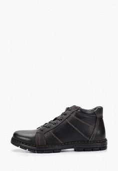 Ботинки, Instreet, цвет: черный. Артикул: IN011AMFYBE6. Обувь / Ботинки / Высокие ботинки