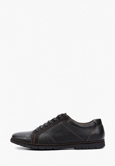Ботинки, Instreet, цвет: черный. Артикул: IN011AMIRCY2. Обувь / Ботинки / Низкие ботинки