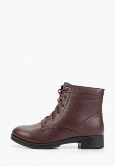Ботинки, Instreet, цвет: бордовый. Артикул: IN011AWCHQU7. Обувь / Ботинки / Высокие ботинки