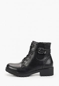 Ботинки, Instreet, цвет: черный. Артикул: IN011AWFYBK8. Обувь / Ботинки