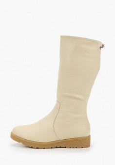 Сапоги, Instreet, цвет: бежевый. Артикул: IN011AWFYBQ8. Обувь / Сапоги