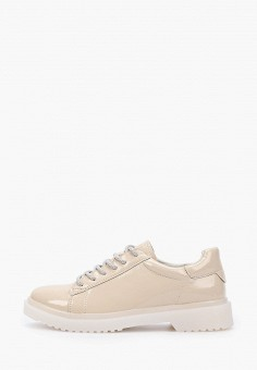 Ботинки, Instreet, цвет: бежевый. Артикул: IN011AWHIJL2. Обувь / Ботинки / Низкие ботинки
