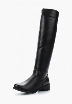 Ботфорты, Instreet, цвет: черный. Артикул: IN011AWKOH20. Обувь / Сапоги / Ботфорты
