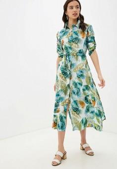 Платье, Indiano Natural, цвет: мультиколор. Артикул: IN012EWHQJC6. Одежда / Платья и сарафаны / Повседневные платья