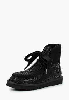 Полусапоги, Inuovo, цвет: черный. Артикул: IN018AWDLMP9. Обувь / Сапоги / Угги и унты