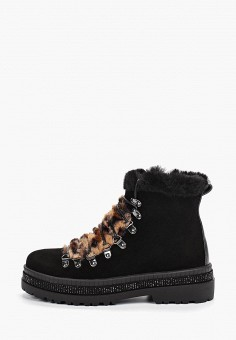 Ботинки, Inuovo, цвет: черный. Артикул: IN018AWGSXS5. Обувь / Ботинки / Высокие ботинки