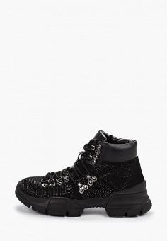 Ботинки, Inuovo, цвет: черный. Артикул: IN018AWGSXS9. Обувь / Ботинки / Высокие ботинки