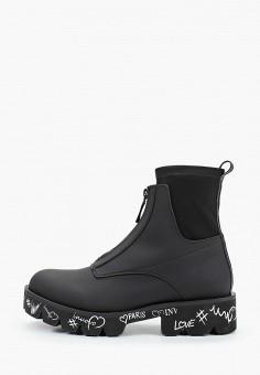 Ботинки, Inuovo, цвет: черный. Артикул: IN018AWKCLM3. Обувь / Ботинки / Высокие ботинки