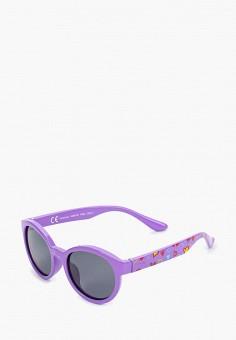 Очки солнцезащитные, Invu, цвет: фиолетовый. Артикул: IN021DGFBFZ7. Девочкам / Аксессуары