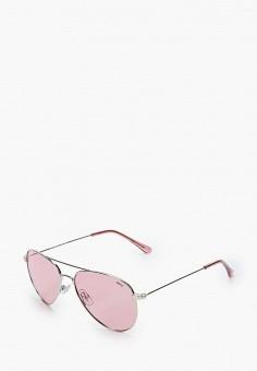 Очки солнцезащитные, Invu, цвет: серебряный. Артикул: IN021DGIXPE4. Девочкам / Аксессуары