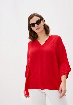 Блуза, Intikoma, цвет: красный. Артикул: IN023EWIWXC1. Одежда / Одежда больших размеров