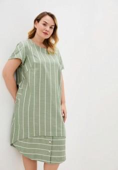 Платье, Intikoma, цвет: зеленый. Артикул: IN023EWJAEX1. Одежда / Платья и сарафаны