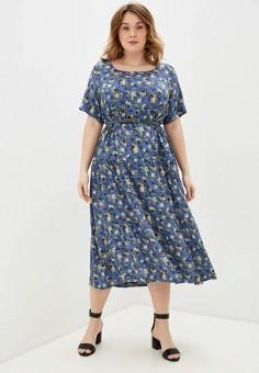 Платье, Intikoma, цвет: синий. Артикул: IN023EWJGOH6. Одежда / Платья и сарафаны / Повседневные платья