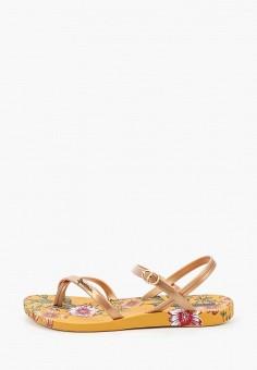 Сандалии, Ipanema, цвет: золотой. Артикул: IP124AWIYKW6. Обувь / Резиновая обувь