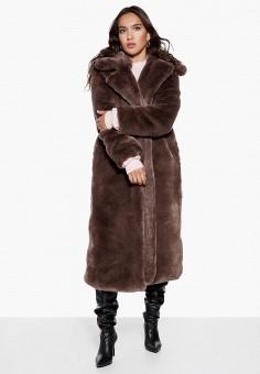 Шуба, Ivyrevel, цвет: коричневый. Артикул: IV006EWCQHR5. Одежда / Верхняя одежда / Шубы и дубленки