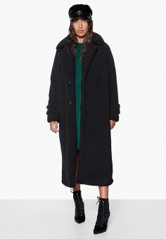 Шуба, Ivyrevel, цвет: черный. Артикул: IV006EWCQHS0. Одежда / Верхняя одежда / Шубы и дубленки