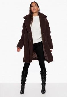 Шуба, Ivyrevel, цвет: коричневый. Артикул: IV006EWCQHS1. Одежда / Верхняя одежда / Шубы и дубленки