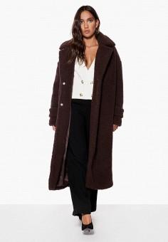 Шуба, Ivyrevel, цвет: коричневый. Артикул: IV006EWCQHS2. Одежда / Верхняя одежда / Шубы и дубленки
