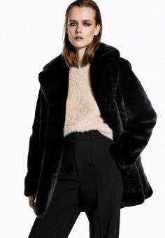 Шуба, Ivyrevel, цвет: черный. Артикул: IV006EWFYSU6. Одежда / Верхняя одежда / Шубы и дубленки