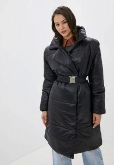Куртка утепленная, Ivyrevel, цвет: черный. Артикул: IV006EWFYSY1. Одежда / Верхняя одежда / Демисезонные куртки